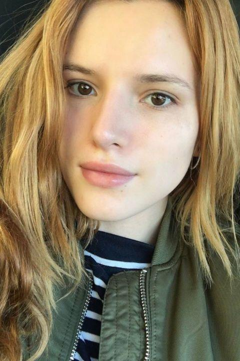 <p>Bella Thorne posted this gorgeous selfie, showing off her natural beauty. </p>