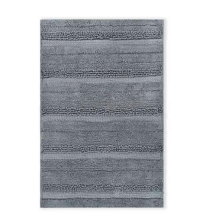 For dorms with suite bathrooms, a bath rug is basically as important as air. (Photo: Bed Bath and Beyond)