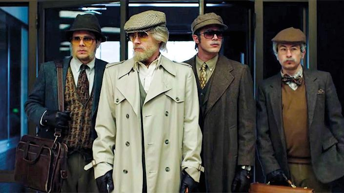 """A real heist is the focus of """"American Animals."""""""