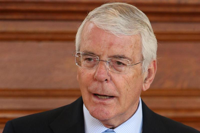 Brexit warning: Sir John Major: PA