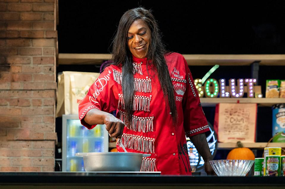 <p>Big Freedia was front and center for a Garden Cookout at City Park in New Orleans.</p>