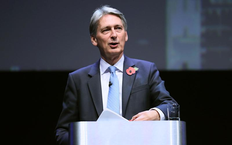 Chancellor Philip Hammond will unveil a multibillion pound drive to improve technical training - Chris Radburn/PA