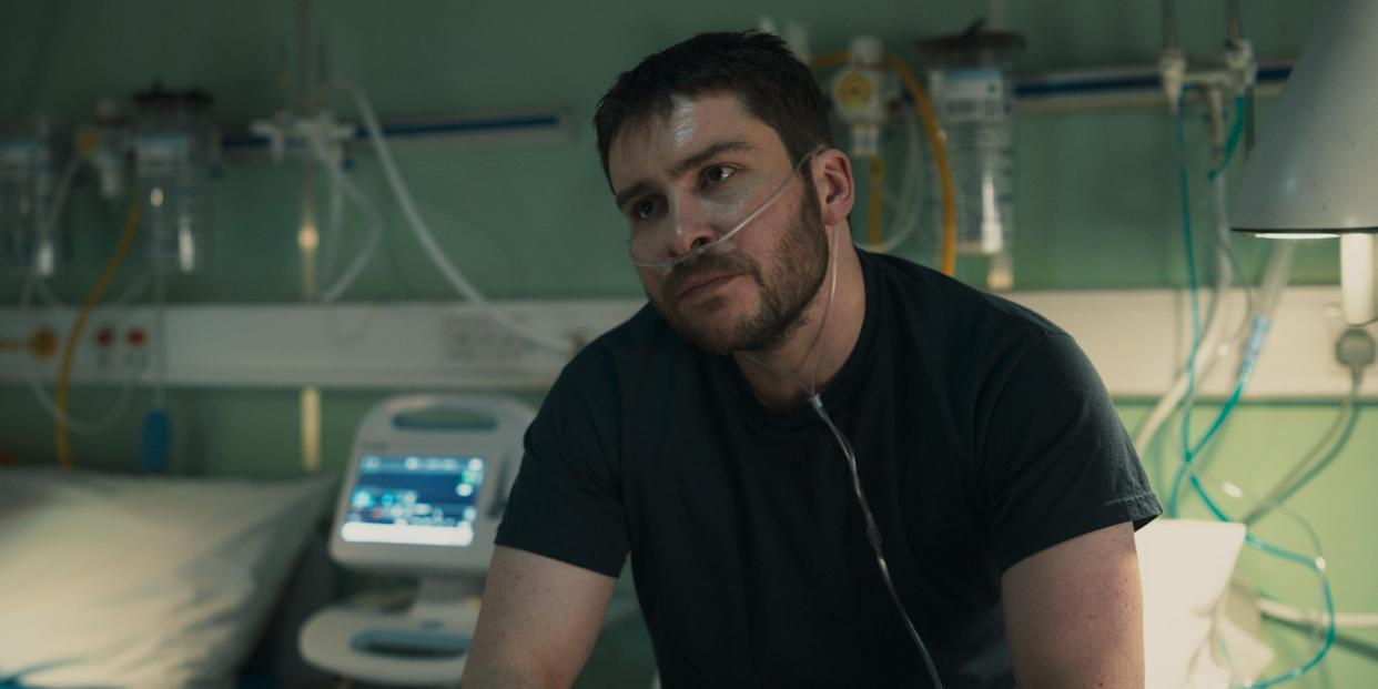 WARNING: Embargoed for publication until 00:00:01 on 24/08/2021 - Programme Name: Vigil - TX: n/a - Episode: n/a (No. 2) - Picture Shows:  Gary Walsh (DANIEL PORTMAN) - (C) World Productions - Photographer: screengrab