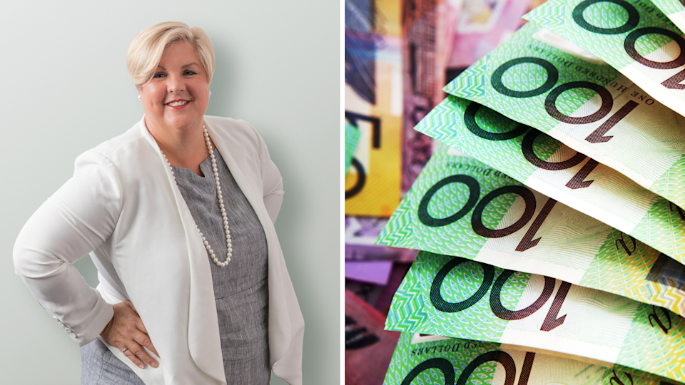Here's exactly what Cathy did to destroy her $1 million debt. (Images: Supplied, Getty).