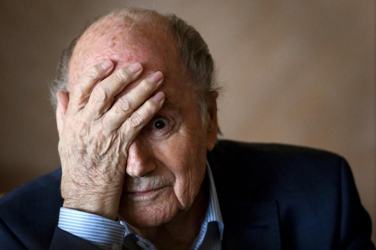 Former FIFA president Sepp Blatter told the media that he was tired of the never-ending corruption case