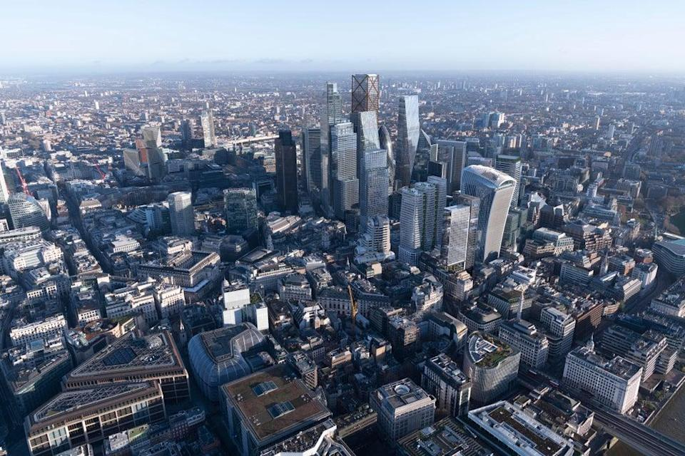 This week the Square Mile is welcoming many City workers back for the first time in 18 months   (Didier Madoc-Jones of GMJ / City of London Corporation')