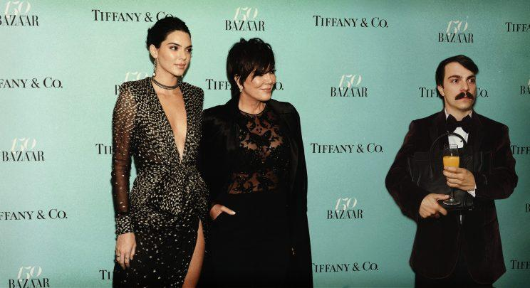 Kirby Jenner posed with Kendall and Kris Jenner at <em>Harper's Bazaar</em> 150th anniversary party in April. (Photo: Getty/@kirbyjenner)