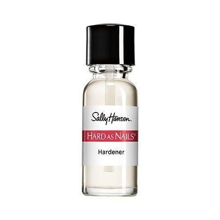 """<p><strong>Sally Hansen</strong></p><p>walgreens.com</p><p><strong>$2.49</strong></p><p><a href=""""https://go.redirectingat.com?id=74968X1596630&url=https%3A%2F%2Fwww.walgreens.com%2Fstore%2Fc%2Fsally-hansen-hard-as-nails-nail-hardener%2FID%3Dprod6373453-product&sref=https%3A%2F%2Fwww.oprahdaily.com%2Fbeauty%2Fg36209337%2Fbest-nail-strengtheners%2F"""" rel=""""nofollow noopener"""" target=""""_blank"""" data-ylk=""""slk:Shop Now"""" class=""""link rapid-noclick-resp"""">Shop Now</a></p><p>This is one of the OG nail strengthening products, and celebrity manicurist <a href=""""https://perfectionispossible.com"""" rel=""""nofollow noopener"""" target=""""_blank"""" data-ylk=""""slk:Sunshine"""" class=""""link rapid-noclick-resp"""">Sunshine</a>, the woman behind Solange and Mariah Carey's manis, loves it for its accessible price point. """"One application a week is all you need, and you'd normally use it as a base coat under your polish of choice,"""" she says. """"It's known as the 'nail clinic in a bottle' because it's a fast fix that can protect against chipping and cracking."""" </p>"""