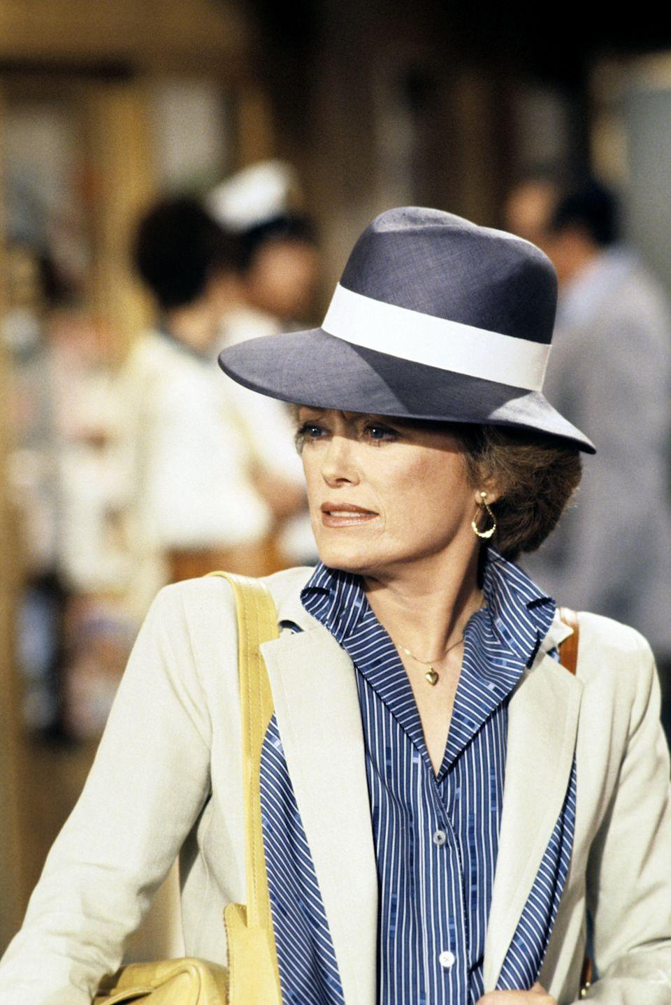 <p>Anyone who was anyone took a trip on <em>The Love Boat</em>, and McClanahan took multiple cruises. Here she's playing April on an episode from season 2.</p>
