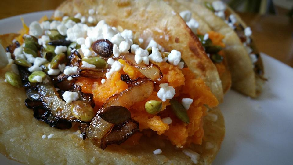 """<div><p>""""We don't really use sweet potato here. I mean, you can buy one sweet potato from a cart as street food or dessert, but it's not really used in Mexican cuisine. There's a hipster thing with it where it's just now happening, but it's not traditional.""""</p></div><span> Magda Travis / Getty Images/EyeEm</span>"""