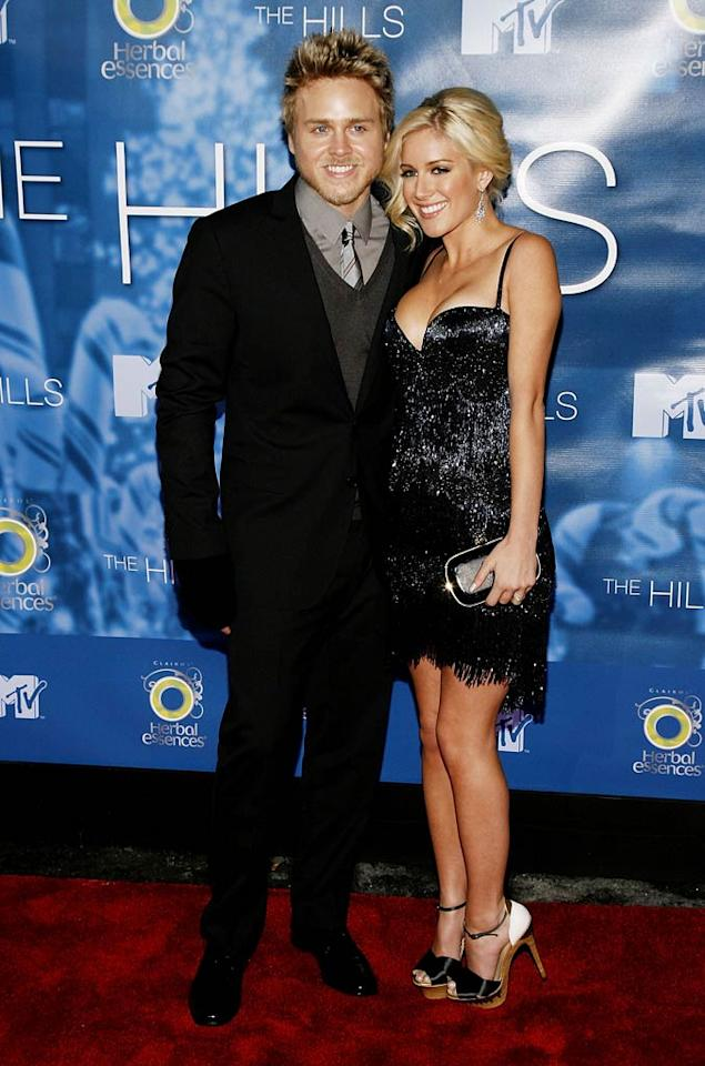 """Spencer Pratt and Heidi Montag arrived together at Monday's season finale party for """"The Hills."""" Viewers learned that the couple's marriage was not legalized after Spencer backed down from saying """"I do"""" at the courthouse. Joe Kohen/<a href=""""http://www.wireimage.com"""" target=""""new"""">WireImage.com</a> - December 22, 2008"""