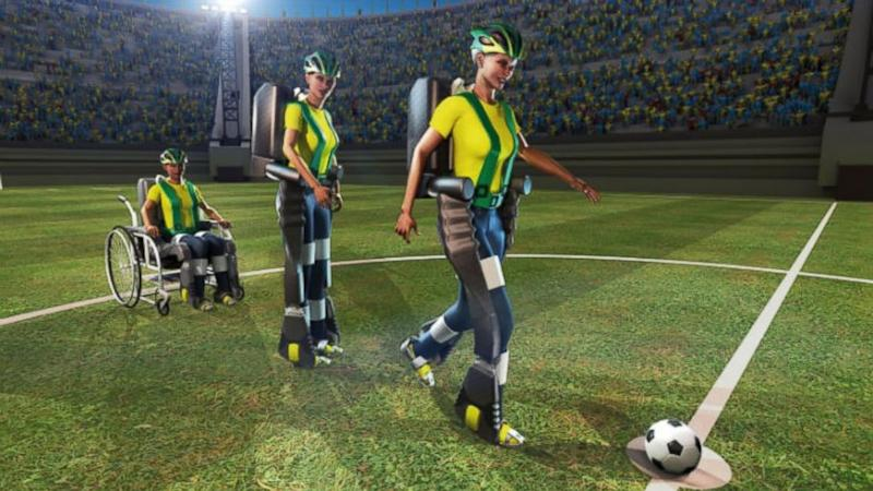 Brain-Controlled Kick to Open This Year's World Cup Soccer