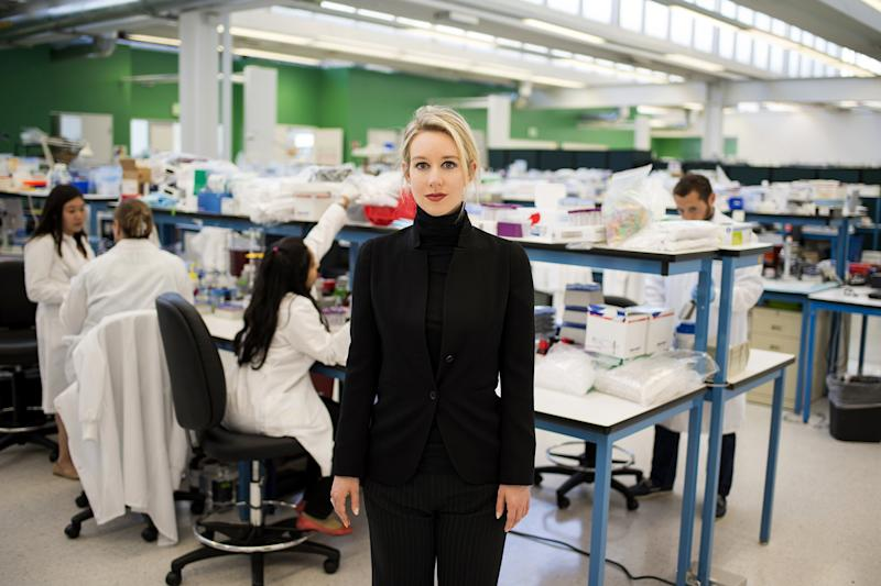 What's Next for Elizabeth Holmes: a Trial, a Wedding and a Movie Starring Jennifer Lawrence