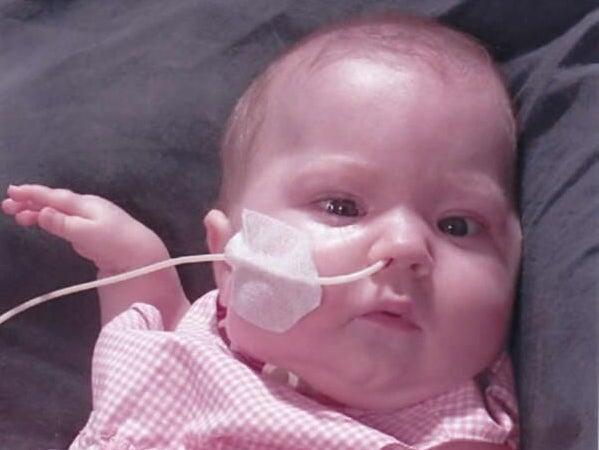 <p>Baby Elizabeth Dixon, who died in December 2001. Her parents have had a two-decade long fight for the truth</p> ( )
