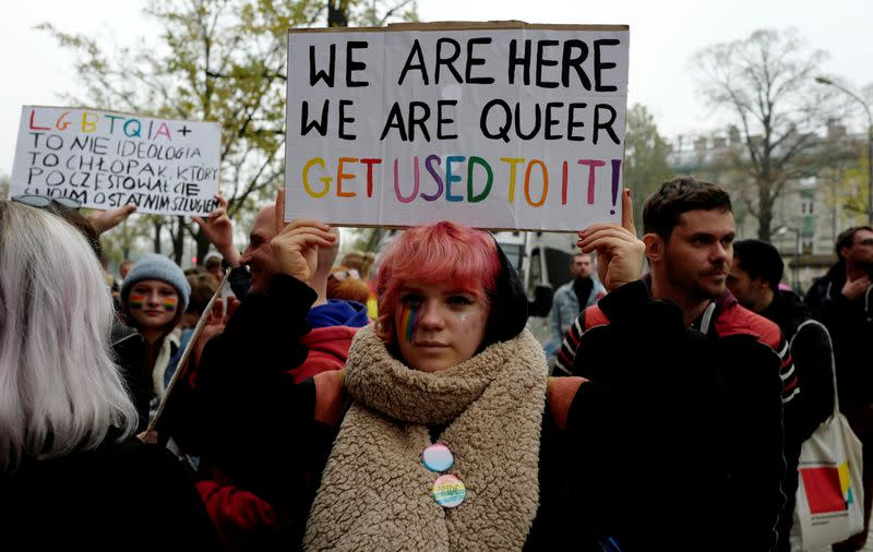 Activist aims to shame Polish towns opposed to LGBT community