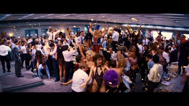A party scene from The Wolf of Wall Street. Source: Paramount Pictures