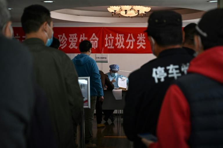 China has administered around 140 million doses since vaccinations began last year and aims to fully inoculate 40 percent of its 1.4 billion people by June