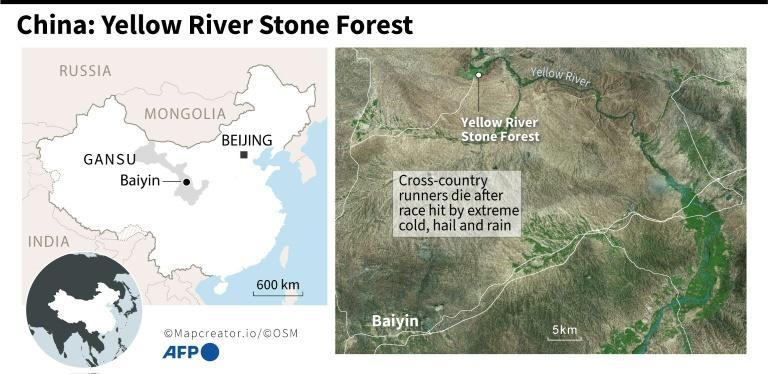China: cross-country runners die in freezing conditions