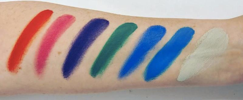 We Can't Look Away From These Mysterious, Electric Kat Von D Swatches