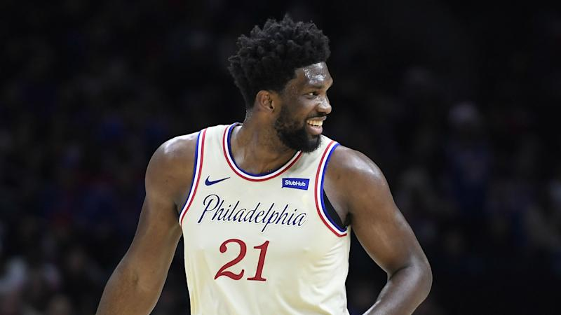 Coronavirus: No one has worked harder than Embiid – Brown hails 76ers star