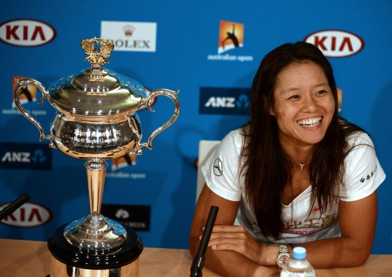 Li Na won a second major at the Australian Open in 2014 before tearfully calling time on her playing career later that year