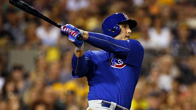 The Cubs slugger says he hasn't been drug tested since spring training.