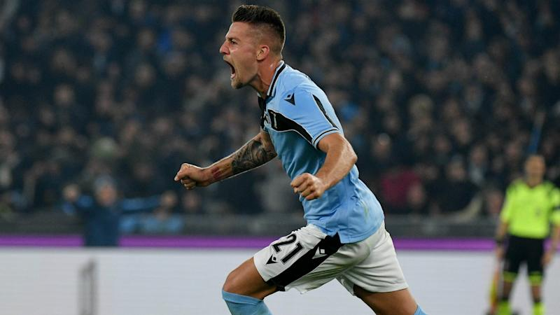 Lazio match-winner Milinkovic-Savic: Why not target Scudetto?