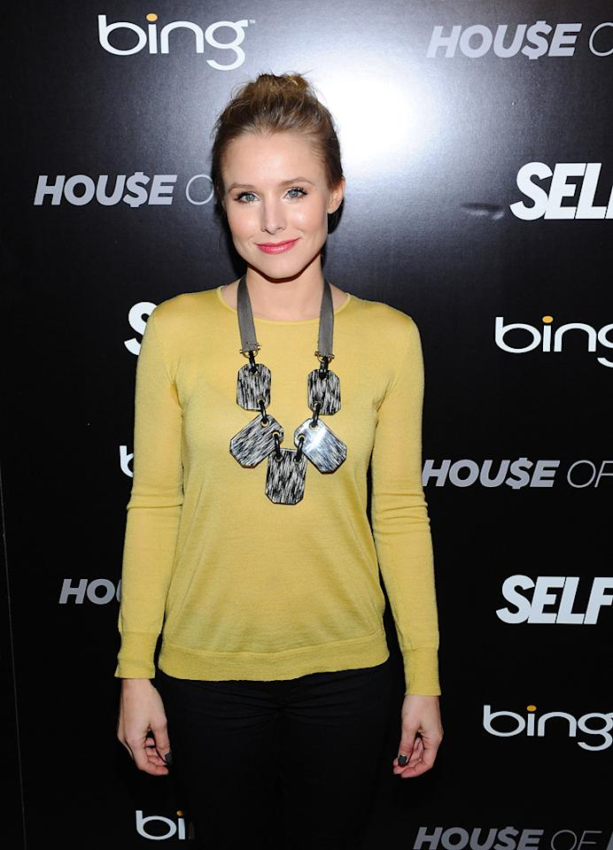 Kristen Bell is seen out and about during the 2012 Sundance Film Festival in Park City, Utah on January 22, 2012.