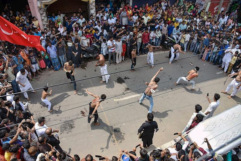 Hyderabad Curbs Traffic in the City for Muharram Procession