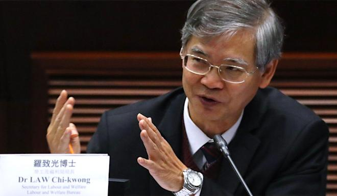Dr Law Chi-kwong says the labour market has deteriorated sharply. Photo: Edmond So