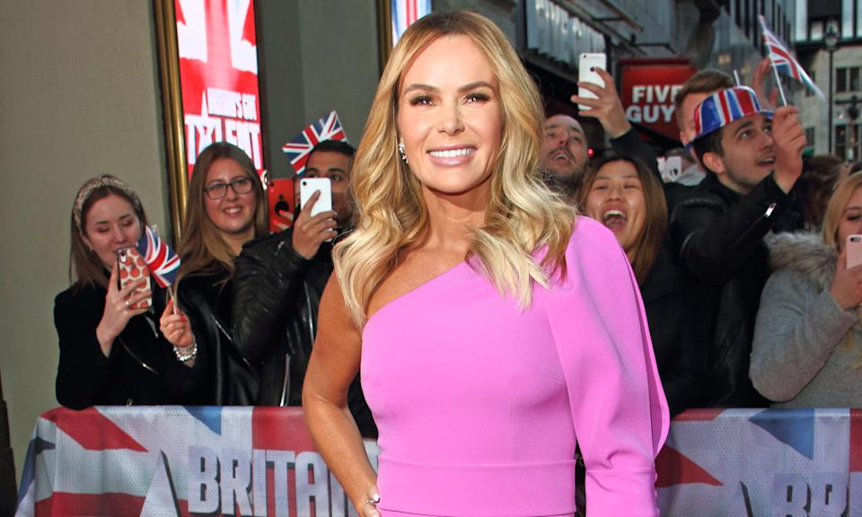 Amanda Holden hasn't ruled herself out of The Masked Singer. (Keith Mayhew / Echoes Wire / Barcroft Media via Getty Images)