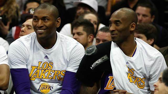 Metta World Peace may have played his final game in Los Angeles.