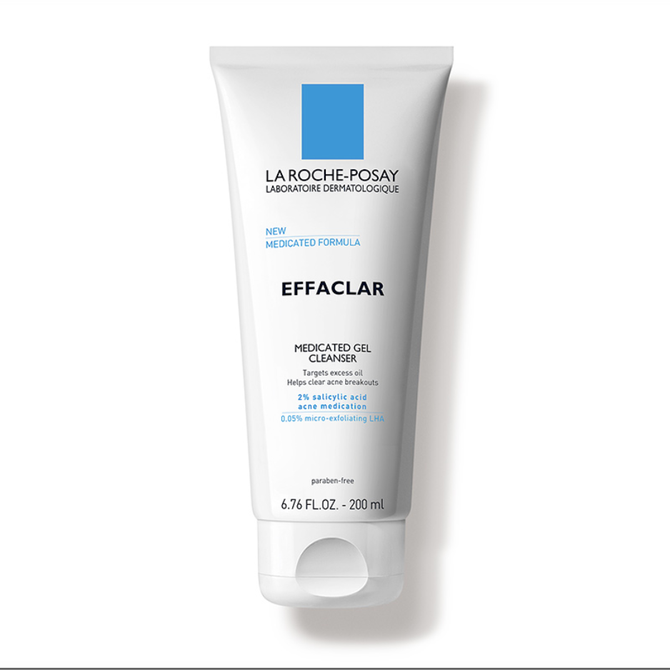 "<p><strong>La Roche-Posay</strong></p><p>amazon.com</p><p><strong>$14.99</strong></p><p><a href=""https://www.amazon.com/dp/B00LO1DNXU?tag=syn-yahoo-20&ascsubtag=%5Bartid%7C10055.g.34123591%5Bsrc%7Cyahoo-us"" rel=""nofollow noopener"" target=""_blank"" data-ylk=""slk:Shop Now"" class=""link rapid-noclick-resp"">Shop Now</a></p><p>A top-rated acne face wash on Amazon — with over 2,000 five-star reviews— La Roche-Posay's gel cleanser fights breakouts with salicylic acid. It's also been clinically tested to help reduce excess oil. But the best part is that <strong>it's still gentle enough to use on those with acne and <a href=""https://www.goodhousekeeping.com/beauty/anti-aging/tips/g1382/sensitive-skin-solutions/"" rel=""nofollow noopener"" target=""_blank"" data-ylk=""slk:sensitive skin"" class=""link rapid-noclick-resp"">sensitive skin</a></strong>. ""It's very mild, lathers beautifully, and leaves your face feeling extremely clean without being tight or stripped of moisture,"" a reviewer reported. ""There was a noticeable difference in the clearness of my skin within the first week of use!""</p>"