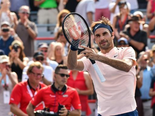 Federer punches ticket to Montreal Masters semis