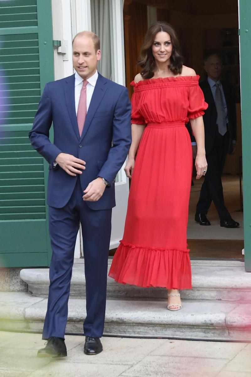 The Duchess of Cambridge is a keen fashion fan. Photo: Getty Images