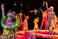 <p>Just like your local movie theater, a theme park's indoor shows are dark, cool, and comfortable. When the heat becomes unbearable, step into a theme-park theater for a relaxing and entertaining indoor show.</p>