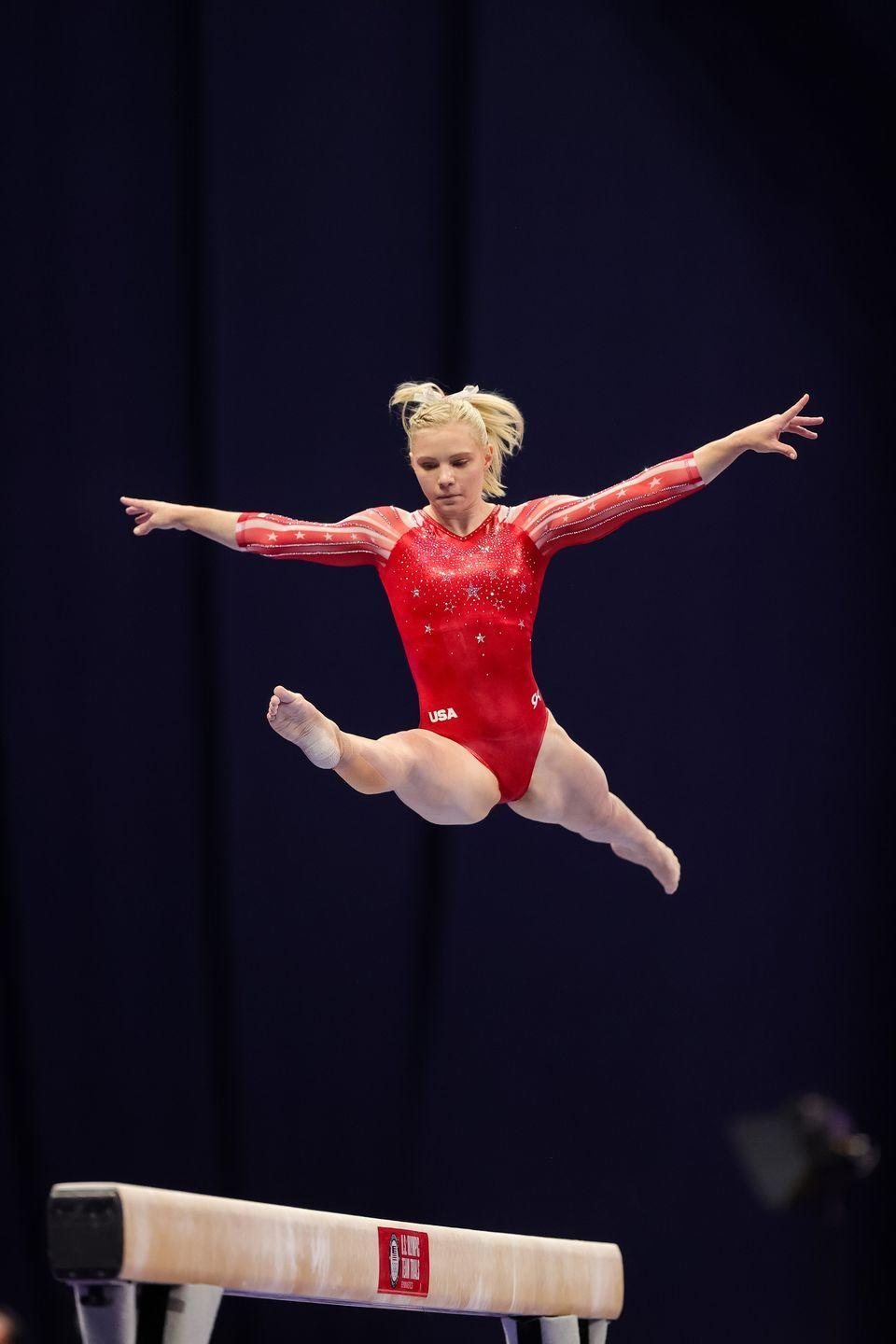 <p><strong>Age: </strong>21</p><p><strong>Hometown: </strong>Phoenix, Arizona</p><p>Carey is also competing in the Games as an individual, though ended up subbing in for Biles in the all-around. She's known for her floor routine, which earned her a gold medal in the individual event competition. Carey previously earned gold as part of the U.S. team at the 2019 Gymnastics World Championships. </p>