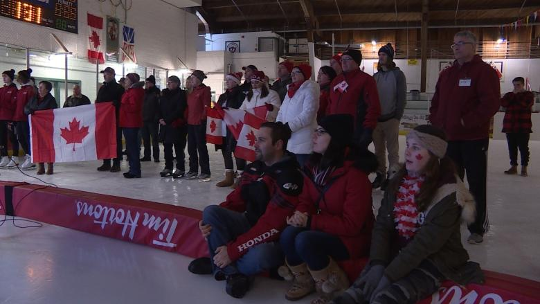 Marystown cheers on Kaetlyn Osmond as she pushes for Olympic podium