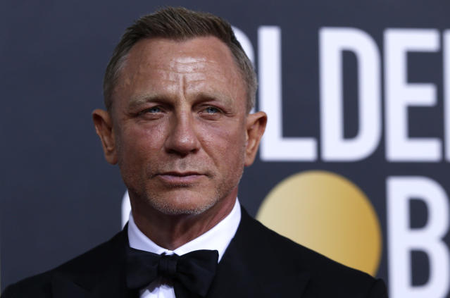 77th Golden Globe Awards - Arrivals - Beverly Hills, California, U.S., January 5, 2020 - Daniel Craig. REUTERS/Mario Anzuoni