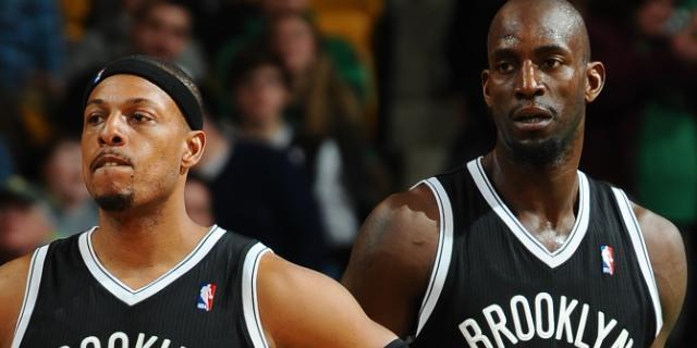 For Paul Pierce and Kevin Garnett, a Boston goodbye comes with cheers, tears and a forever bond
