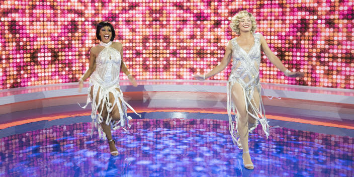 TODAY Show Halloween 2020: Sheinelle Jones and Dylan Dreyer as Velma Kelly and Roxie Hart from
