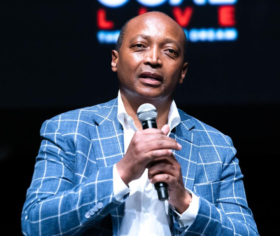 <strong>Estimated net worth: US $2billion</strong> | Patrice Tlhopane Motsepe (Age 58) is a South African mining billionaire businessman of Tswana descent. He is the founder and executive chairman of African Rainbow Minerals, which has interests in gold, ferrous metals, base metals, and platinum. He sits on several company boards, including being the non-executive chairman of Harmony Gold, the world's 12th largest gold mining company, and the deputy chairman of Sanlam. In 2012, Motsepe was named South Africa's richest man, topping the Sunday Times' annual Rich List with an estimated fortune of R20.07 billion ($1 billion).