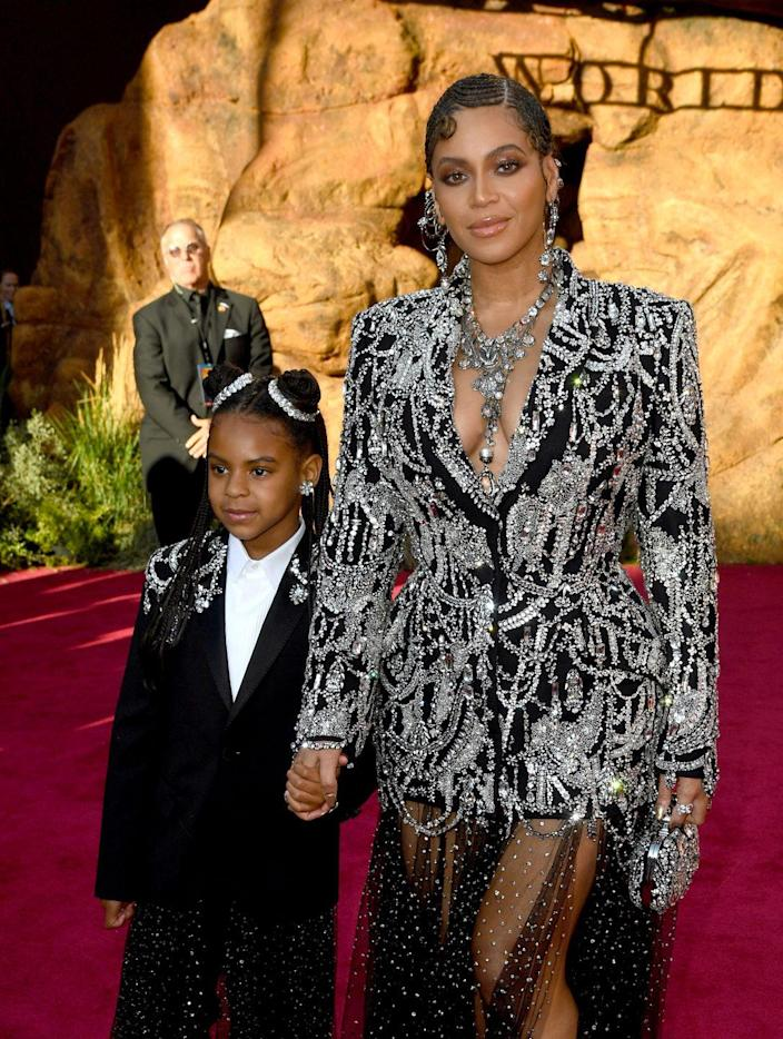 <p>At 8 years old, Blue Ivy now struts her big girl style alongside Queen Bey at lots of events.</p>