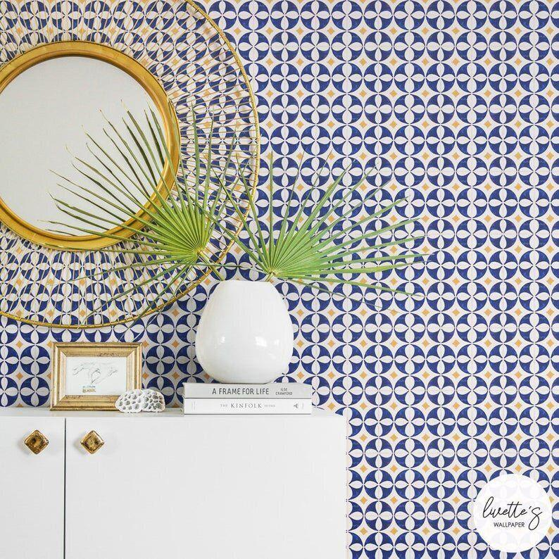 """<strong><a href=""""https://fave.co/2MDXn8O"""" target=""""_blank"""" rel=""""noopener noreferrer"""">Shop wallpaper from Livettes starting at $7 on Etsy</a></strong>"""