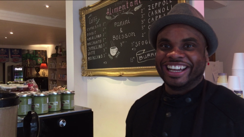 Meet the Haitian-Canadian who runs an Italian grocery store
