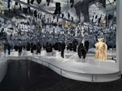 "<p>The Costume Institute's exhibition 'About Time: Fashion and Duration' opens in New York this weekend – and will trace 150 years of fashion, from 1870 to present day, along a disrupted timeline. The exhibition – which was meant to guide the theme for the 2020 Met Gala (which was cancelled due to the coronavirus pandemic) – is being put on in honour of the museum's 150th anniversary. </p><p>""Employing philosopher Henri Bergson's concept of la durée — the continuity of time — the exhibition explores how clothes generate temporal associations that conflate the past, present, and future,"" a press release for the museum explains. ""The concept is also examined through the writings of Virginia Woolf, who serves as the exhibition's 'ghost narrator'.""</p><p>The exhibition will feature a timeline of 125 fashions dating from 1870 to the present, which will unfold in two adjacent galleries fabricated as enormous clock faces and organised around the principle of 60 minutes of fashion. Each 'minute' features a pair of garments, with the primary work representing the linear nature of fashion and the secondary work its cyclical character. </p><p>""All of the garments are black to emphasize changes in silhouette, except at the conclusion of the show, where a white dress from Viktor & Rolf's spring/summer 2020 haute couture collection, made from upcycled swatches in a patchwork design, serves as a symbol for the future of fashion with its emphasis on community, collaboration, and sustainability.""</p><p> The exhibition will run from 29 October 2020 to 7 February 2021. If you aren't able to get the United States to see it in person, head to the <a href=""https://www.metmuseum.org/press/exhibitions/2020/about-time"" rel=""nofollow noopener"" target=""_blank"" data-ylk=""slk:Met's website here for more information"" class=""link rapid-noclick-resp"">Met's website here for more information</a>, or scroll through to see some highlights from the exhibition.</p>"