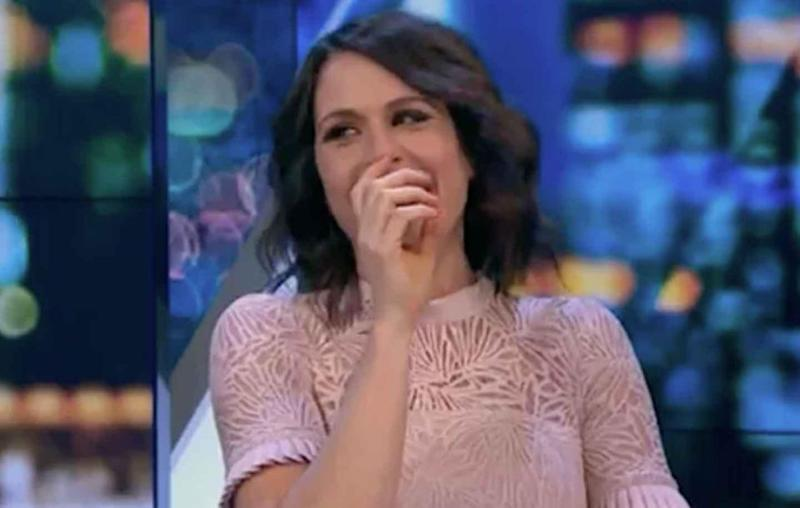 Carrie Bickmore The Project body odour