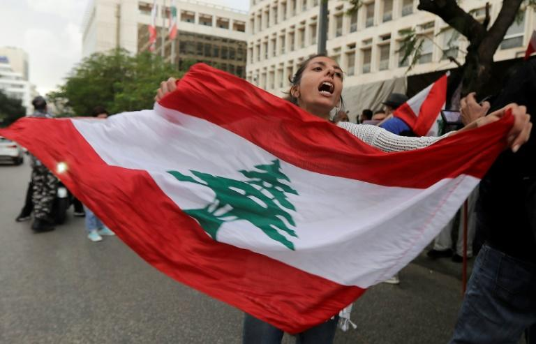 Lebanese protesters want the wholesale removal of the country's political class (AFP Photo/JOSEPH EID)