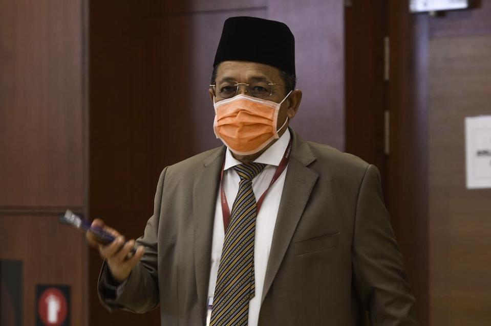 According to the source, the meeting was chaired by BN Backbenchers' Club chairman and Arau MP Datuk Seri Shahidan Kassim. ― Picture by Miera Zulyana