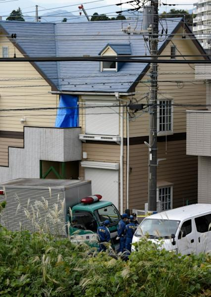 Police discovered a grisly house of horrors in Shiraishi's apartment in a Tokyo suburb last month